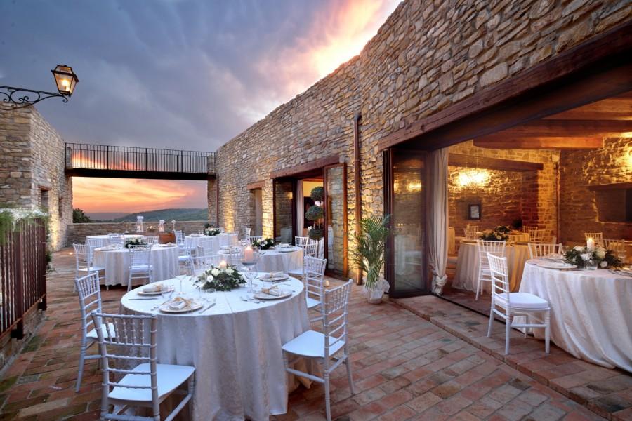 castello umbria wedding